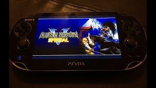 Samurai Showdown V Special PS Vita Gameplay 1080p
