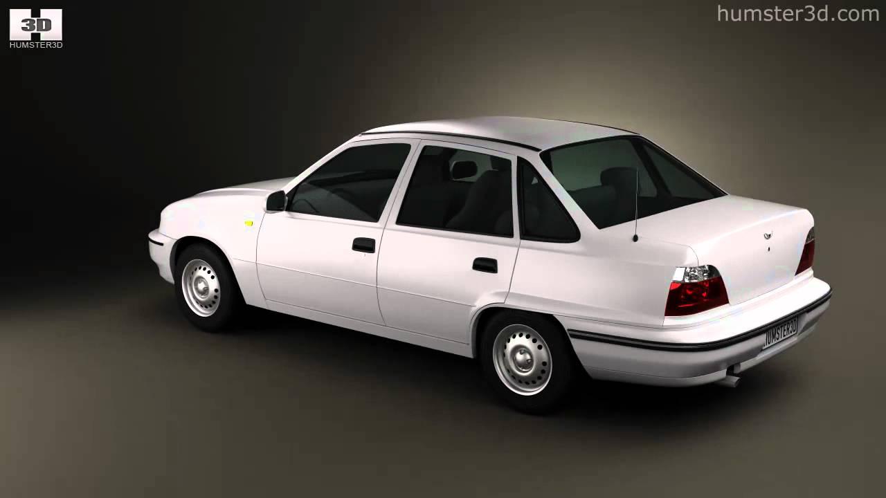Daewoo Lemans  Nexia  Cielo  Racer  Sedan 1996 By 3d Model