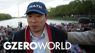 Andrew Yang Shows His Work | 2020 election interview | GZERO World with Ian Bremmer Full Episode
