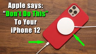 """Apple Issues New iPhone 12 Upgrade Warnings, says """"4 Things Not To Do"""""""