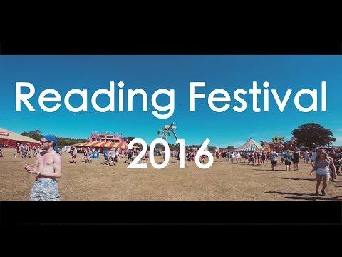 Reading Festival 2016 - My Travel Video (4k)