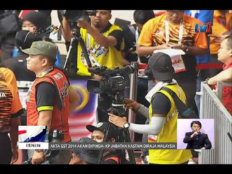 SUKAN PARA ASEAN 2017: LAPORAN HARIAN 8PM [18 SEPT 2017]