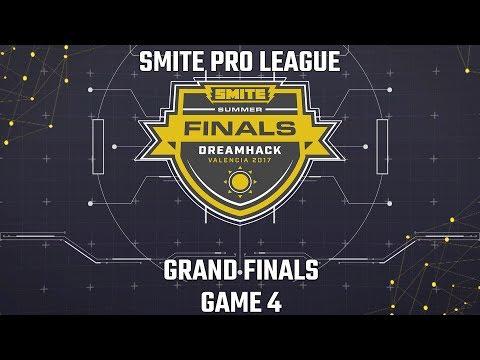 SMITE Pro League Summer Finals 2017: Grand Finals (Game 4)