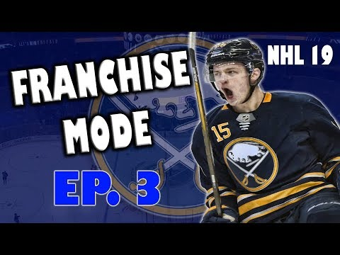 NHL 19 Big Trade! Buffalo Sabres Franchise Ep 3
