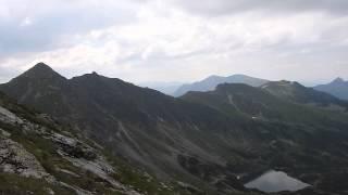Kasprowy Wierch 1987m spod  szczytu Kocielca 2155m w Tatrach 1080p Nikon P900 zoom test