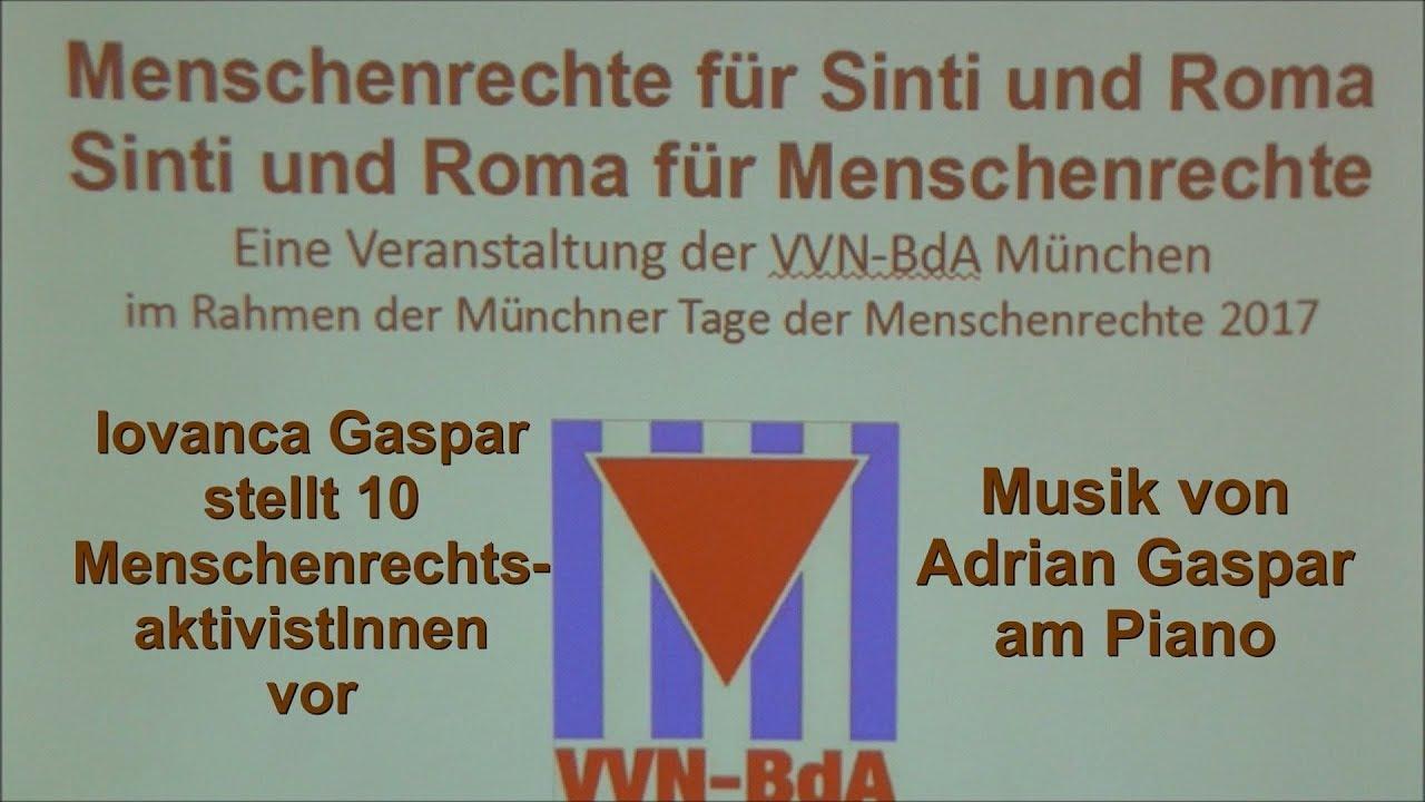 Iovanca Gaspar; Adrian Gaspar (Klavier) 10 Aktivistinnen der Sinti ...