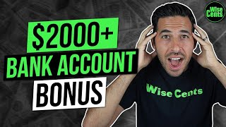 How I Made $2,000 From Bank Bonuses In 24 Hours | Bank Bonus Explained
