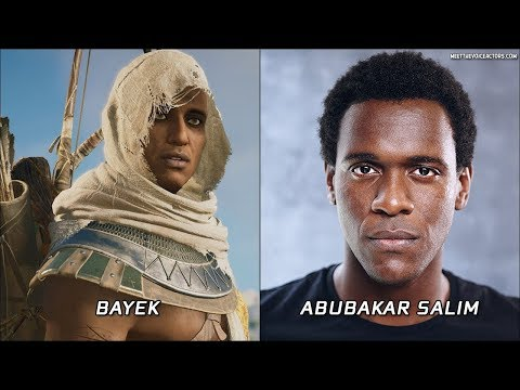 Assassin's Creed Origins   Characters And Voice Actors