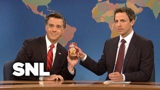 Weekend Update: Mitt Romney - Saturday Night Live