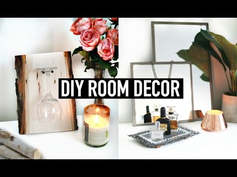 DIY Room Decor | Vintage & Rustic Inspired 💡 ✂️ 🔨
