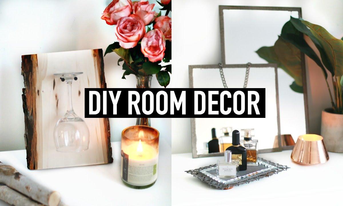 Diy Room Decor Vintage Rustic Inspired Youtube