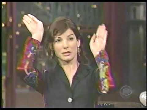 Sandra Bullock Interview with Letterman - 2003