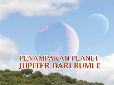 """VIDEO ANEH TAPI NYATA """"PENAMPAKAN PLANET JUPITER DARI BUMI"""" ANEH TAPI NYATA TERBARU !!"""