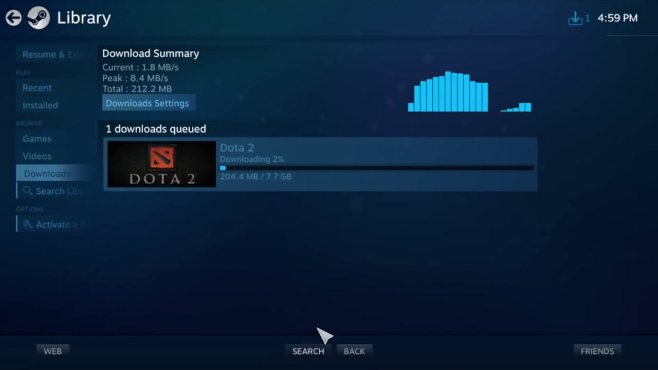 how dota 2 download faster youtube