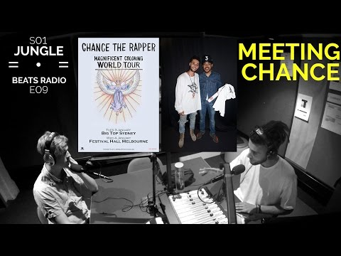 CHANCE THE RAPPER MELBOURNE CONCERT REVIEW + MEETING CHANCE EXPERIENCE (JBR S01E09)