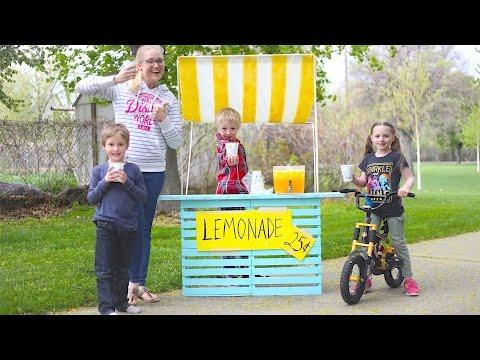 How To Make A Lemonade Stand!