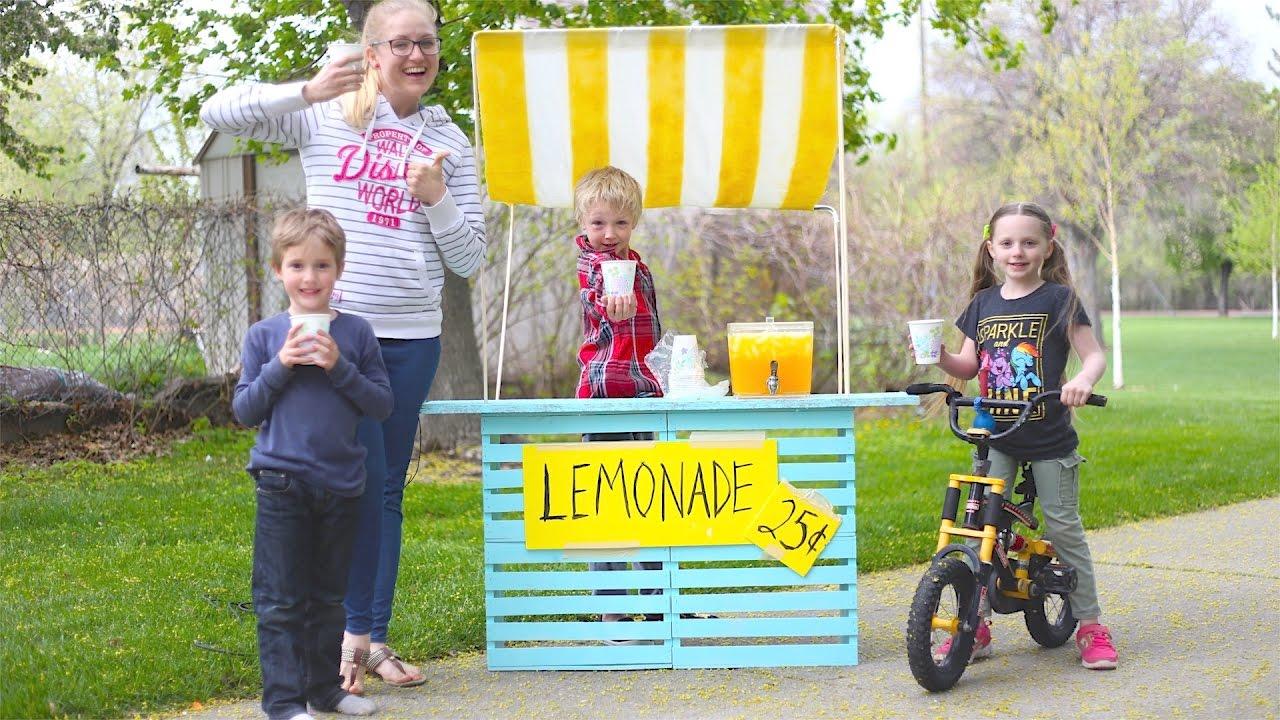 How to make a lemonade stand doovi for Build a lemonade stand