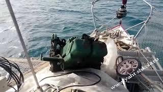 Обучение яхтингу в Анапе - перегон яхты Eagle - эпизод 2 (выход)