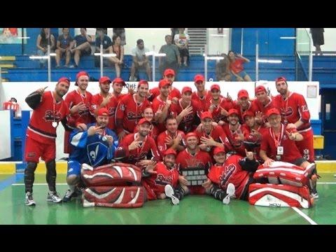 2016 Cbha Nationals A Canadian Ball Hockey Association Montreal Red Lite Vs Newfoundland Blackhorse