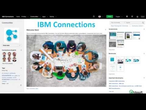IBM Connections for better collaboration, knowledge and project management