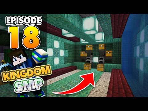 AUTOMATIC SMELTER!! Ep.18 Minecraft PE Realms Survival Let's Play! (KingdomSMP)