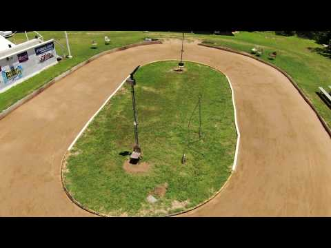 Wild Bill's Raceway - around the track from the air
