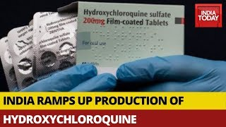 COVID-19 Crisis: India Ramps Up Production of Hydroxychloroquine To Meet Demands   5ive Live