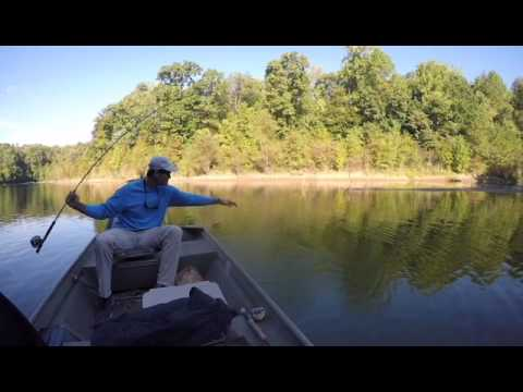 Fishing with Steve Frick in North Mississippi