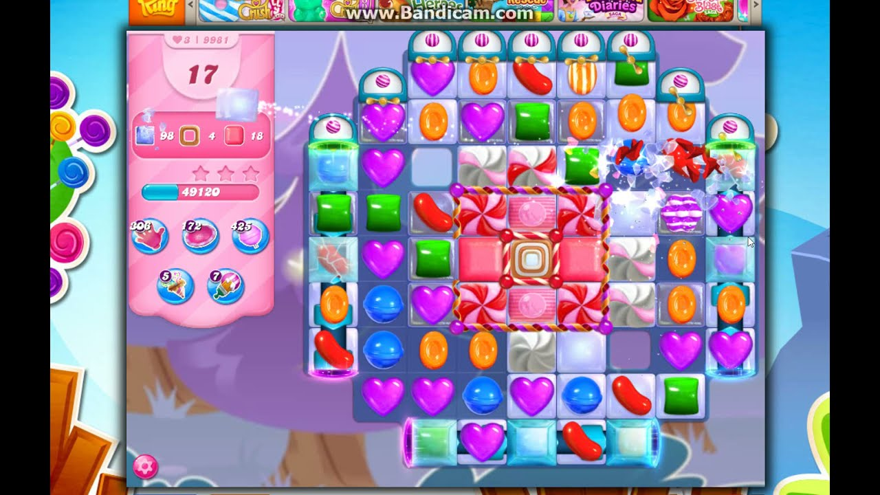 Download Candy Crush Saga Level 9981 - 25 Moves NO BOOSTERS