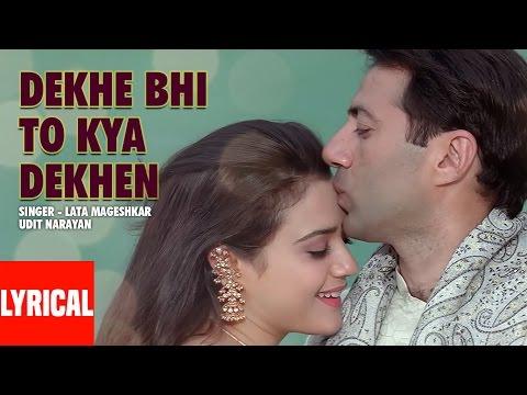 """Dekhe Bhi To Kya Dekhen"" Lyrical Video   Farz   Preity Zinta, Sunny Deol"