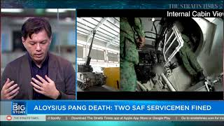 Aloysius Pang death: Two SAF servicemen fined   THE BIG STORY   The Straits Times