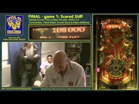 IFPA12 Final Game 1 Scared Stiff