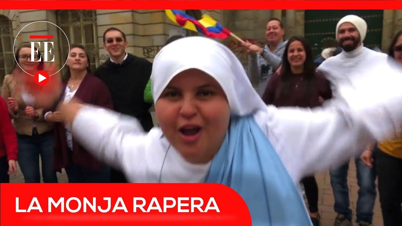VideoConoce Colombia Papa La Monja Que Cantará Al Le A En Rapera drxWBCQoEe