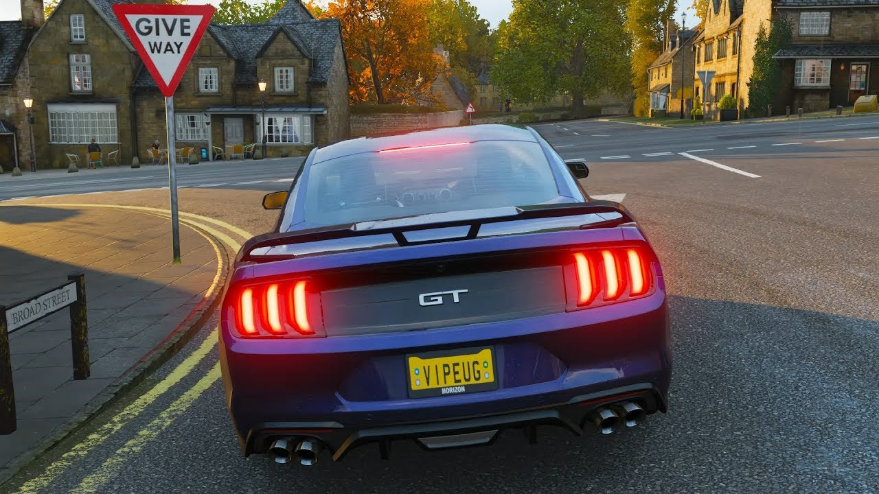 Forza Horizon 4 Ford Mustang GT 2018 Gameplay 1080p HD ...