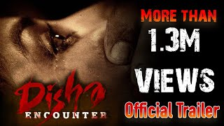 Disha Encounter Official Trailer | Disha Movie | Ram Gopal Varma | #RGVDisha | #LatestMovies