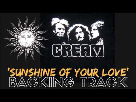 Cream - 'Sunshine Of Your Love' [Full Backing Track]