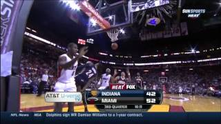 April 11, 2014 - Sunsports - Game 79 Miami Heat Vs Indiana Pacers - Win (54-25)(Heat Highlights)