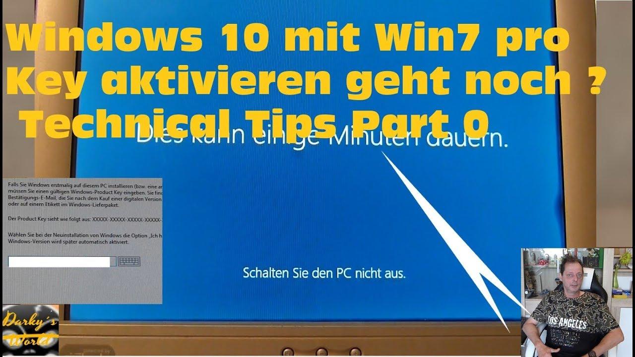 Win10 Mit Win7 Key