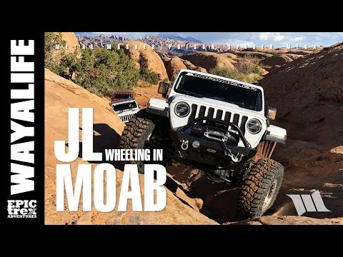 MOAB : IT STARTS AGAIN - Part 2 / JEEP JL WRANGLER on Metal Masher & Poison Spider + Dynatrac CODE 1
