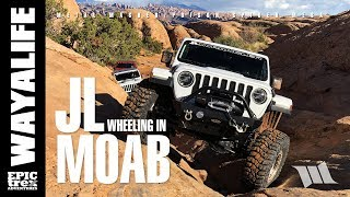 JEEP JL WRANGLER Off Road in MOAB : Metal Masher / Poison Spider / Dynatrac CODE 1 - PART 2
