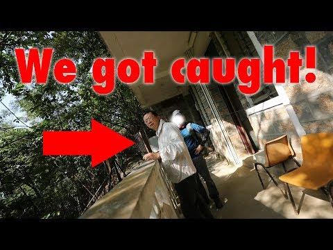 BUSTED AT AN ABANDONED HOSTEL - HONG KONG
