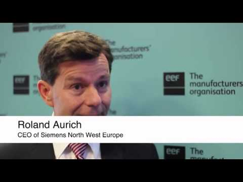 The Manufacturer interviews Roland Aurich, CEO of Siemens North West Europe