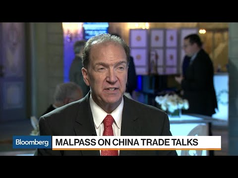 Treasury's Malpass on U.S.-China Trade, FX Rates