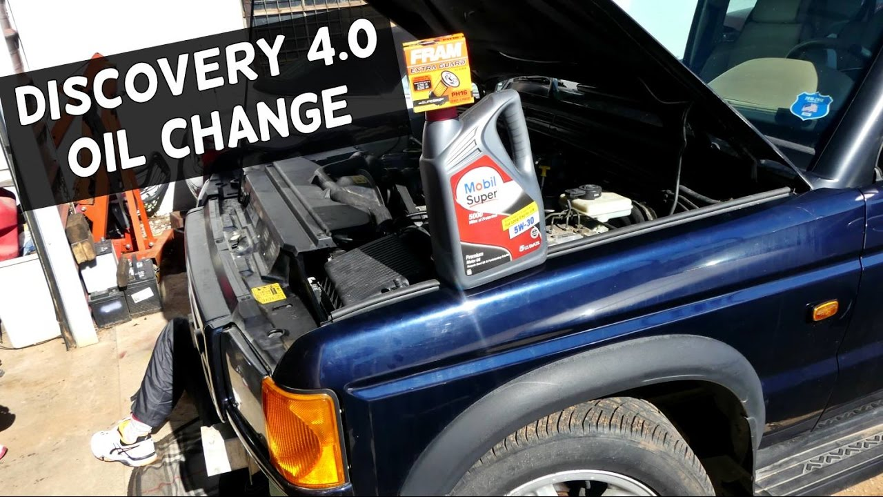 land engine oil how landrover discovery change youtube on to rover watch