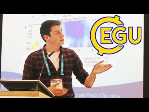 Presenting my PhD research at EGU 2016!
