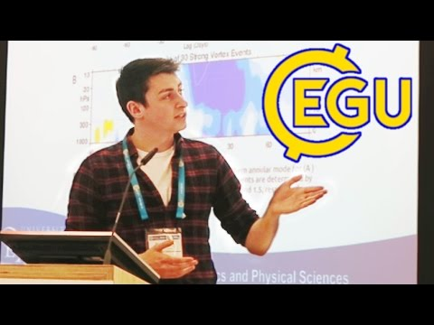 Presenting my PhD research at EGU 2016!