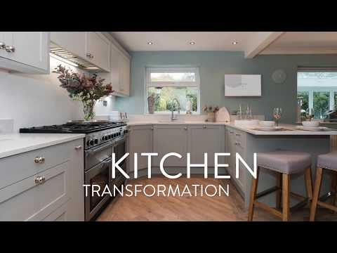 Shaker Style Fitted Kitchen Transformation