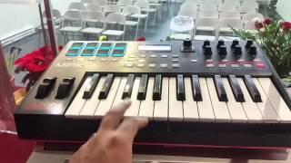 Conectando controlador MIDI AKAI MPK-225