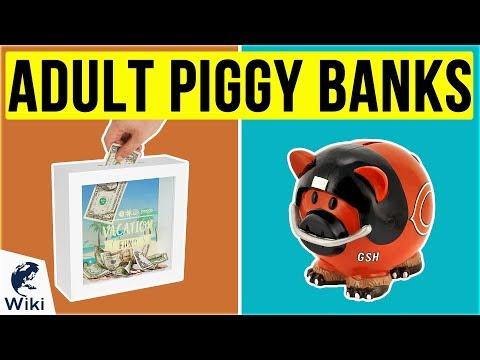 10 Best Adult Piggy Banks 2020