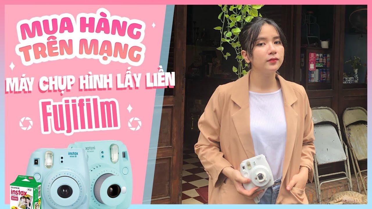 [MUA HÀNG TRÊN MẠNG] Đặt Thử Máy Chụp Hình Lấy Liền Fujifilm Instax SIêu Cute Và Cái Kết